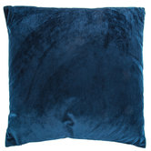 Navy Velvet Pillow